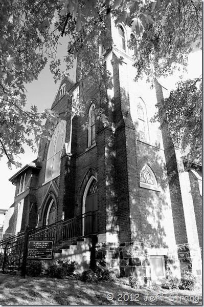 Ashville Church B&W